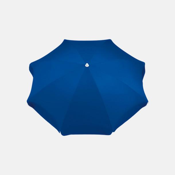 Blå Parasoller med eget reklamtryck