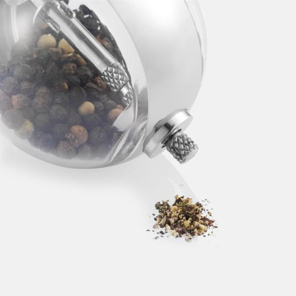 Designat salt- & peppar set med reklamtryck