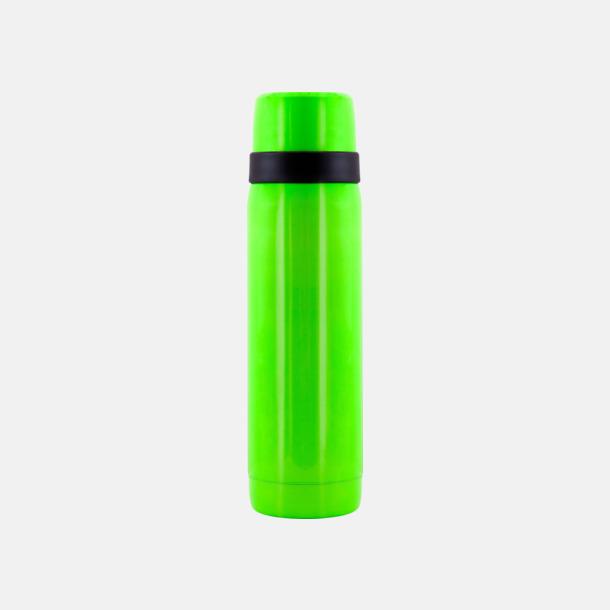 Neongrön Neonfärgade termosar 0,5 liter från Vildmark med reklamtryck