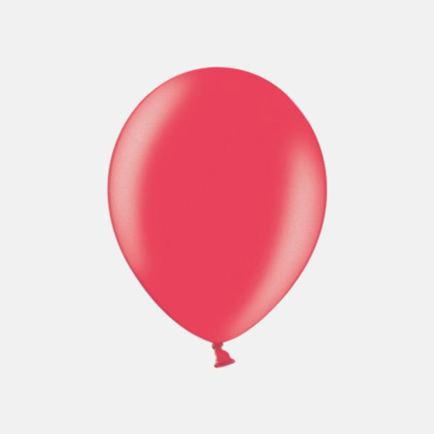 080 Cherry Red (PMS 1795 U)  Ballonger i unika färger med eget tryck