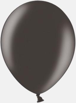 090 Black (PMS 090) Ballonger i unika färger med eget tryck