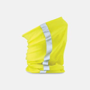 Halskragar med reflexer och flouroscerande färg - med eget tryck