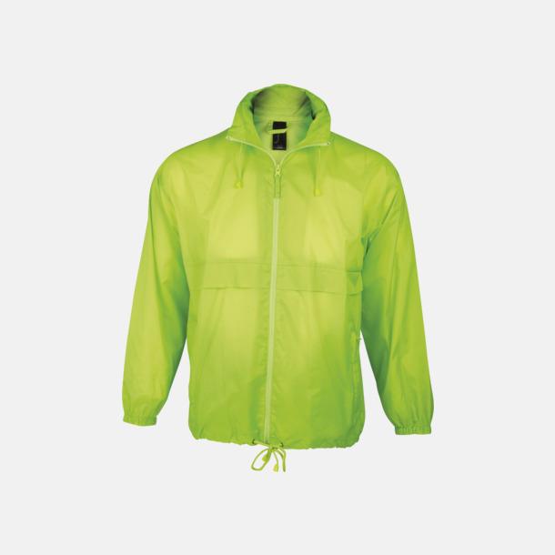 Neon Green (endast vuxen) Vinjackor för vuxna och barn - med tryck