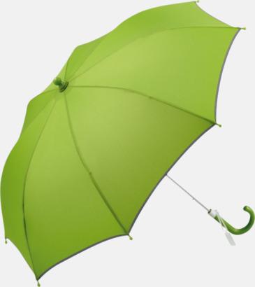 Limegrön Säkra barnparaplyer med eget tryck