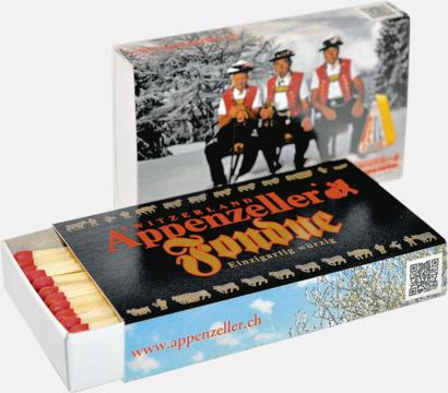 Brasstickor packade 45 st/ask med reklamtryck