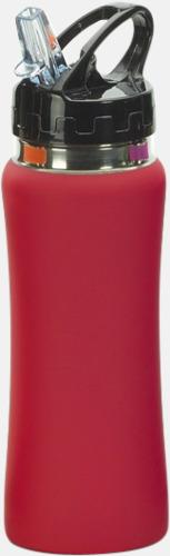 Röd Vattenflaskor i många färger - med reklamtryck