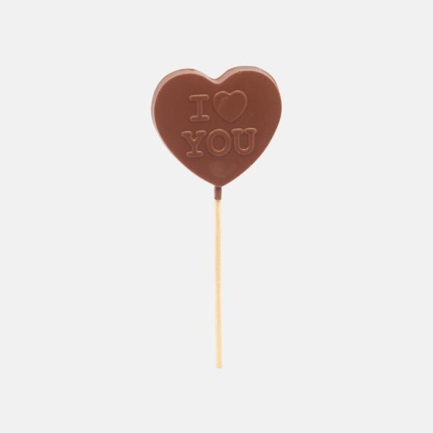 Hjärta Gjutna chokladklubbor