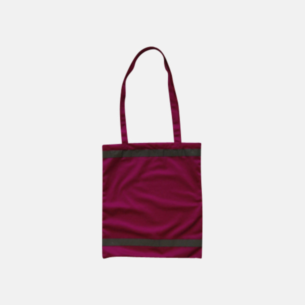 Magenta Warnsac® shoppingbag med reklamtryck