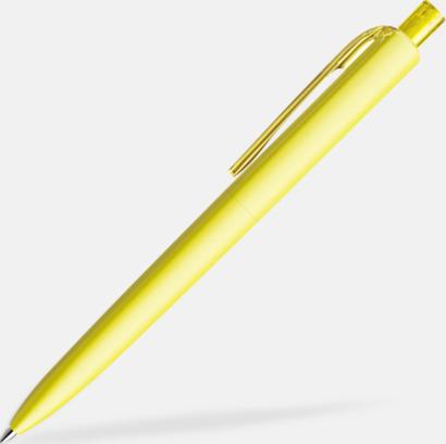 Lemon (matt) Funktionella Prodirpennor med reklamtryck