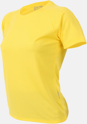 Sun yellow Sport t-shirts i många färger - med reklamtryck