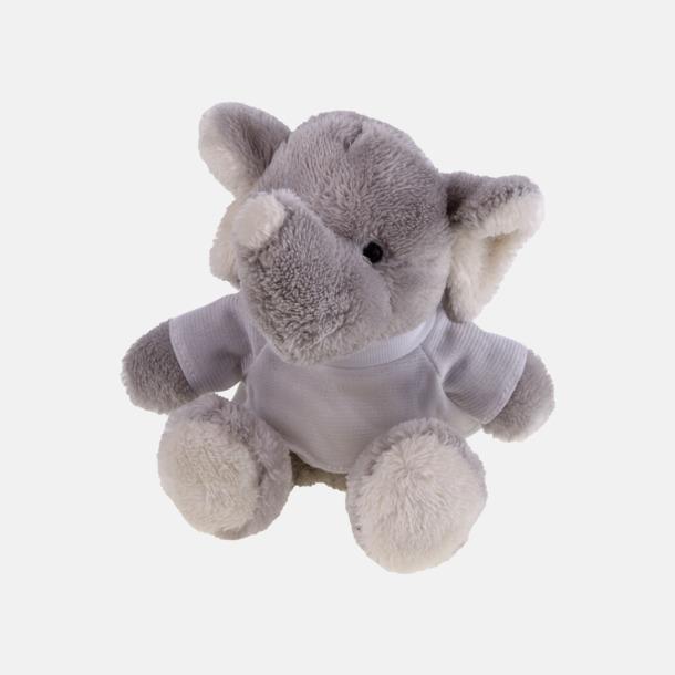 Elefant Mjukisdjur med tryckta t-shirts