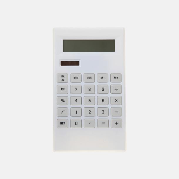 Stilren miniräknare med tryck