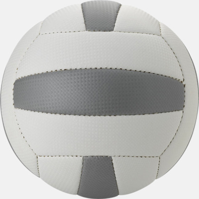 Vit / Silver Volleybollar med reklamtryck