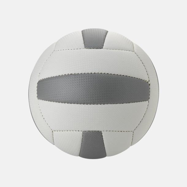 Vit/Grå Volleybollar med reklamtryck