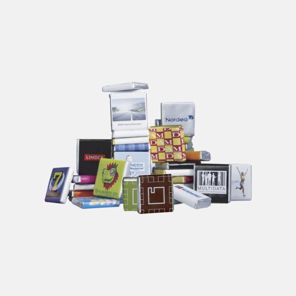 CMYK-tryck Ekologisk fairtradechoklad med eget tryck