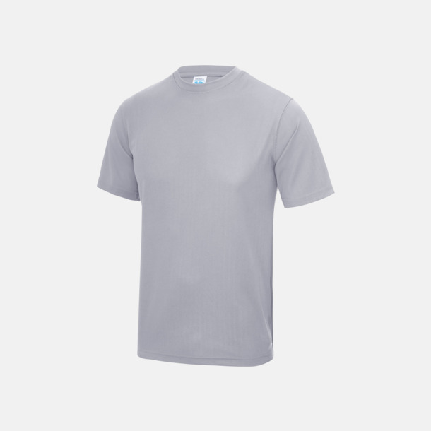 Heather Grey (solid) Billig funktionströja med eget tryck