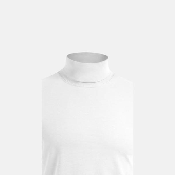 Långärmad t-shirt med turtle neck - med tryck