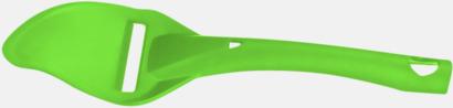 Limegrön Osthyvel med reklamtryck