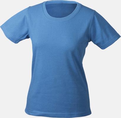Blå Träningskläder Dam med reklamtryck