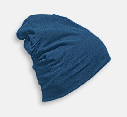 True Blue Skräddarsydda bomullsmössor med fleecefoder