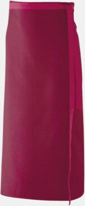 Bordeaux (100 x 80 cm) Förkläden i 5 varianter med reklamtryck