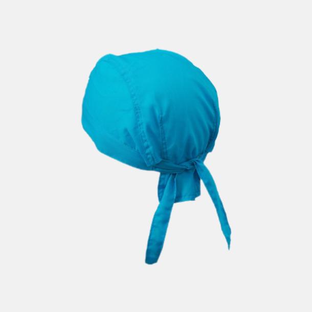 Turkos (hatt) Bandanas i två varianter med reklambrodyr