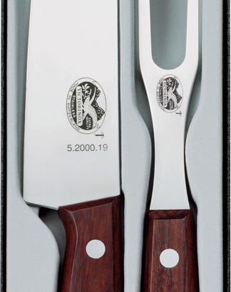 Victorinox kockkniv och tranchergaffel