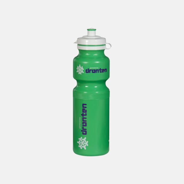 Grön Vattenflaskor i 4 storlekar med reklamtryck