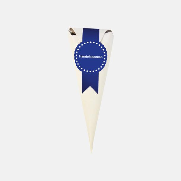 Egen logga Strutar med chokladhjärtan med egen etikett