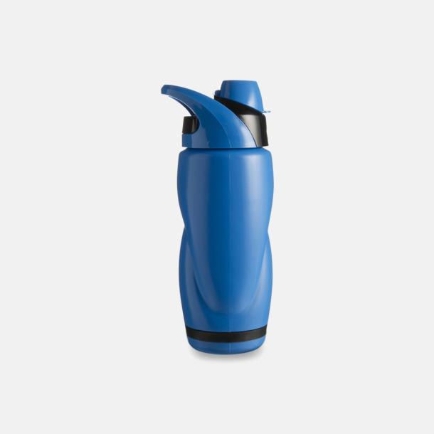Blå / Svart Vatten och sportflaska med tryck