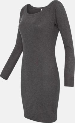 Långärmade klänningar med reklamtryck