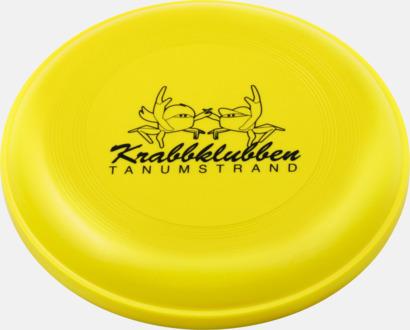 Gul Frisbees med reklamtryck