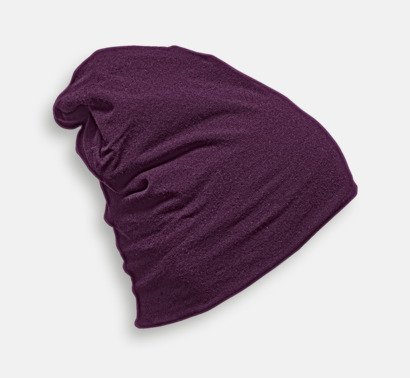 Lavender Skräddarsydda bomullsmössor med fleecefoder