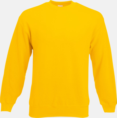 Sunflower Klassisk sweatshirt med reklamtryck