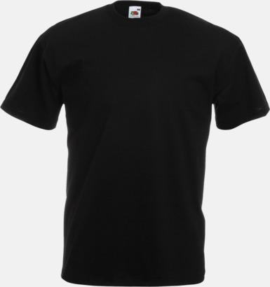 Svart Valueweight t-shirt med tryck