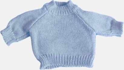 Baby Blue Tjocktröjor för kramdjur med reklamtryck