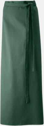 Bottle Green (100 x 100 cm) Förkläden i 5 varianter med reklamtryck