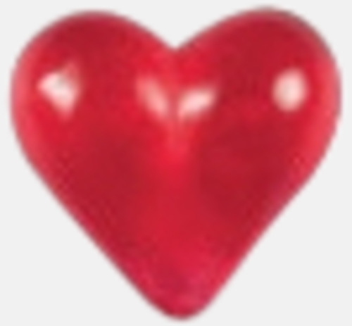 Hjärta Gelébitar i pyramidpåse med reklamtryck