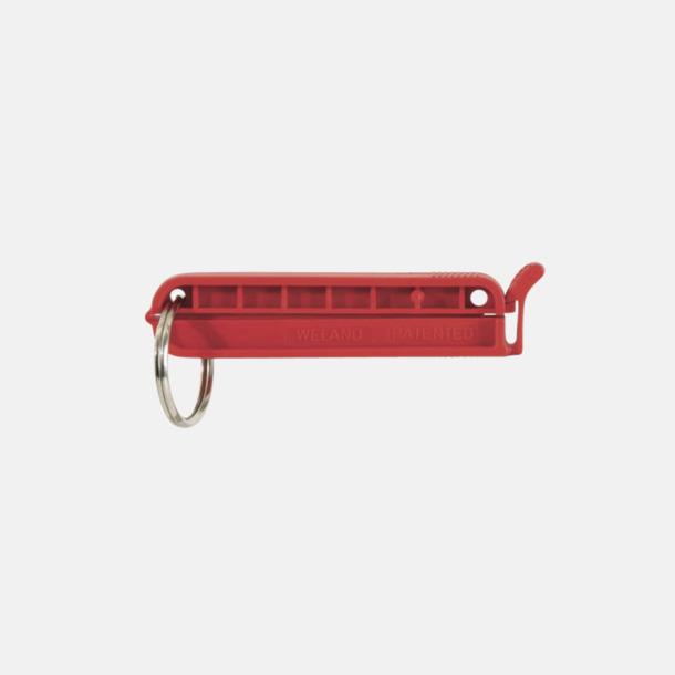 Röd (70 mm) Påsklämmor med sprängring