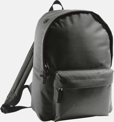Svart Billiga ryggsäckar med ege tryck