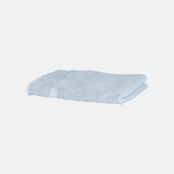 Powder Blue Exklusiva handdukar med egen brodyr