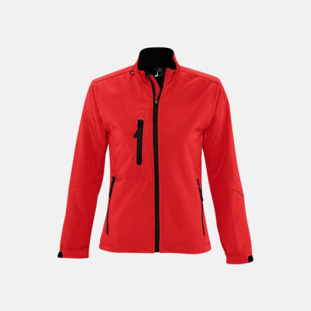 Pepper Red (dam) Softshell jackor i herr- & dammodell med reklamtryck