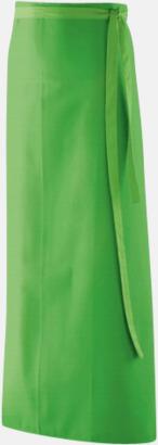 Lemon Green (100 x 100 cm) Förkläden i 5 varianter med reklamtryck