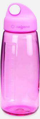 Rosa Sportig vattenflaska med eget tryck