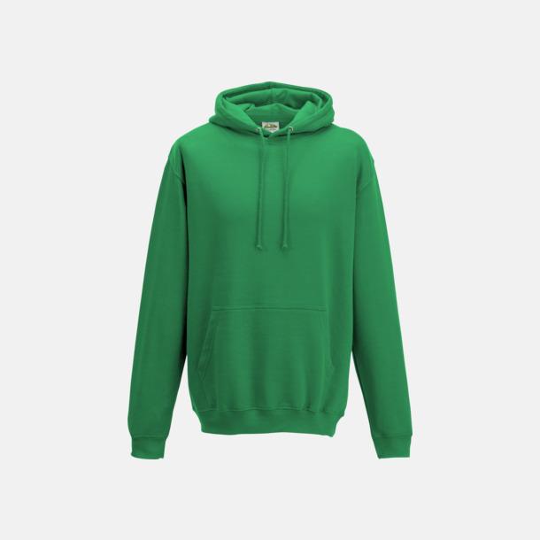 Spring Green Billiga collegetröjor i unisexmodell - med tryck