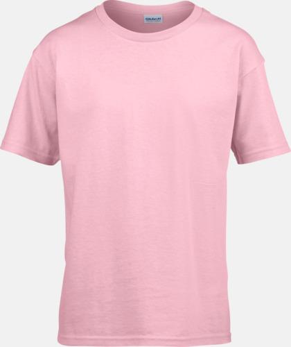 Ljusrosa Billiga t-shirts med reklamtryck