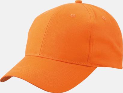 Orange Trendig keps med egen brodyr eller tryck