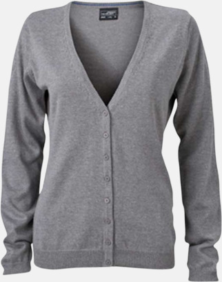 Grey Heather Dammode med eget tryck