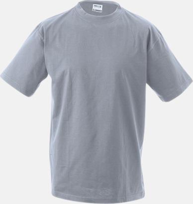 Grey Heather Barn t-shirtar av kvalitetsbomull med eget tryck