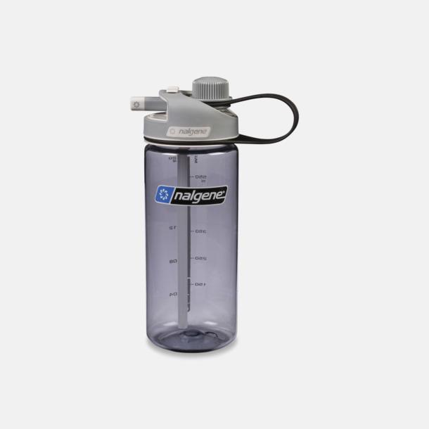Grå Vattenflaska med multidinklock
